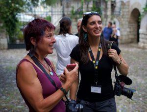 Fotografin Carey Wagner bei der SommerAkademie