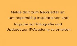 Newsletter IF/Academy Fotoworkshops
