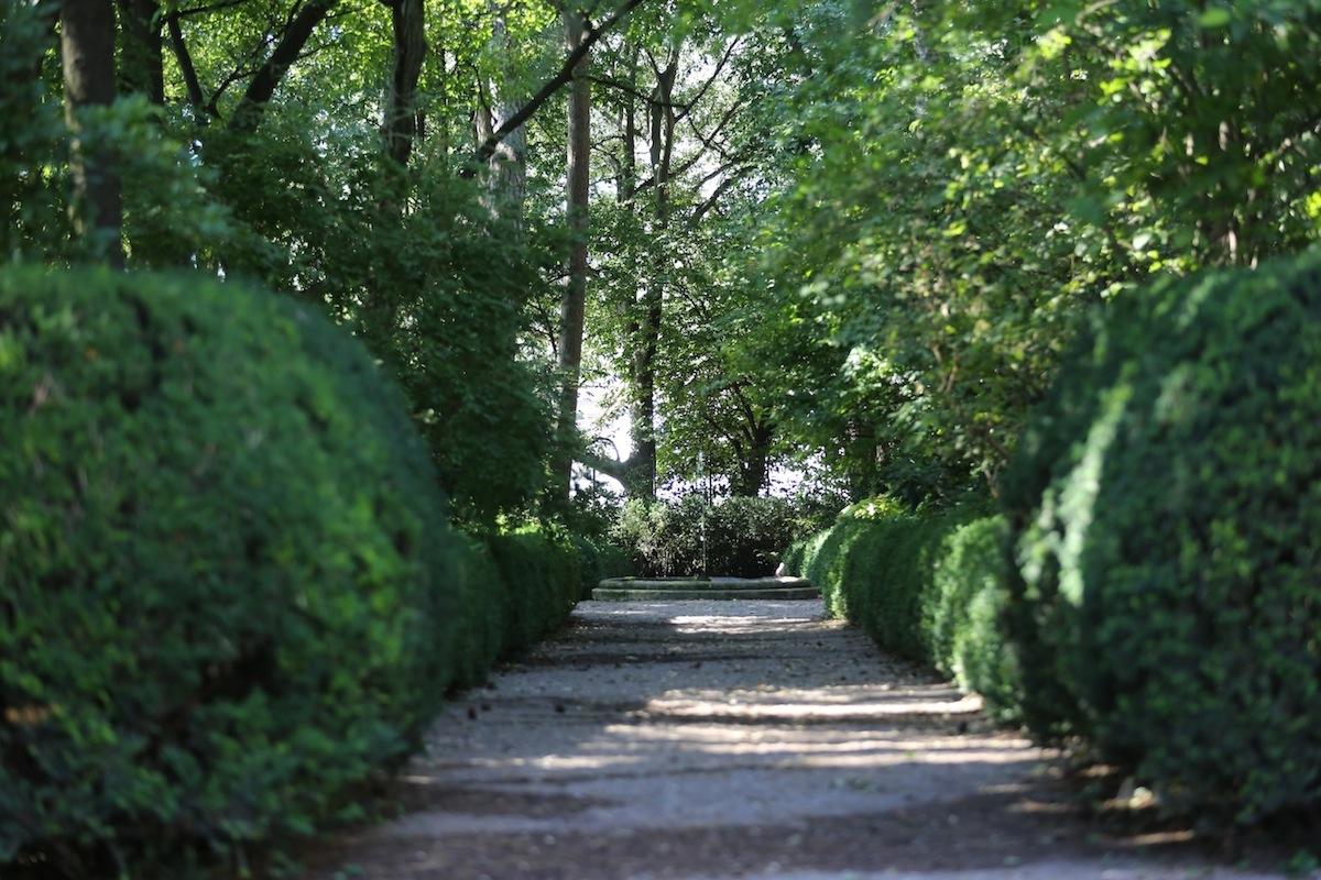 Garten Casòn Hirschprunn