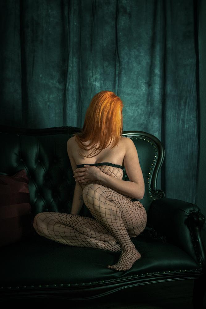 @ Bernhard Brause | Sofagespräche – Model Karo