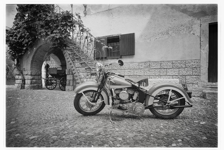 © Klaus Bichlmayer | SommerAkademie 2018 | Oldtimer Motorräder Fotoworkshop